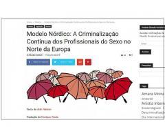PELA REGULAMENTAÇAO E PROFISSIONALIZAÇÃO DO TRABALHO SEXUAL !
